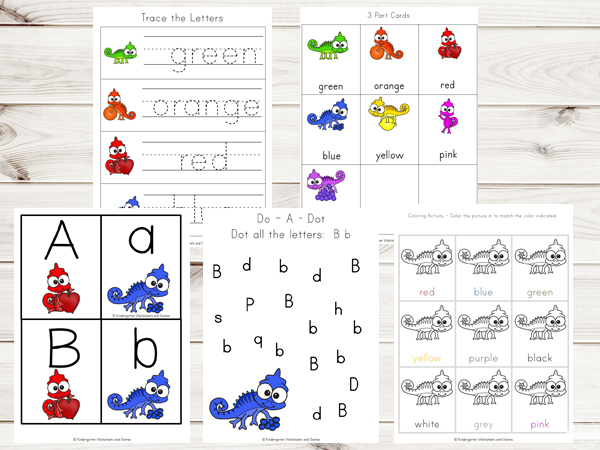 colors-worksheets-preschool-kindergarten-first-grade-color-words