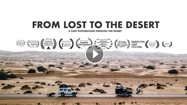 FROM LOST TO THE DESERT - A Surf Trip Through Western Sahara