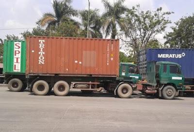 Jenis truk dan daya angkutnya (trailer)