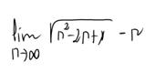 42. Límite de una sucesión (ind. inf. menos inf.) 5
