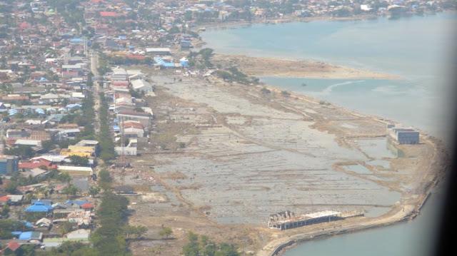 Kapal TNI AL Temukan Longsoran Dasar Laut di Teluk Palu yang Diperkirakan Jadi Asal Kekuatan Tsunami
