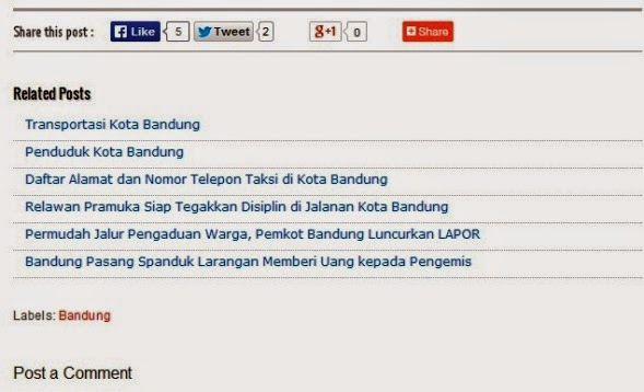 Related Posts Bisa Tingkatkan Pageviews Blog