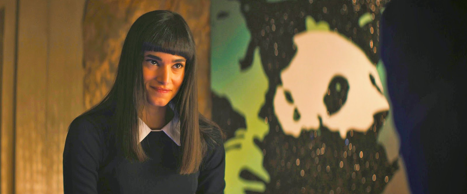 Sofia Boutella in Kingsman: The Secret Service