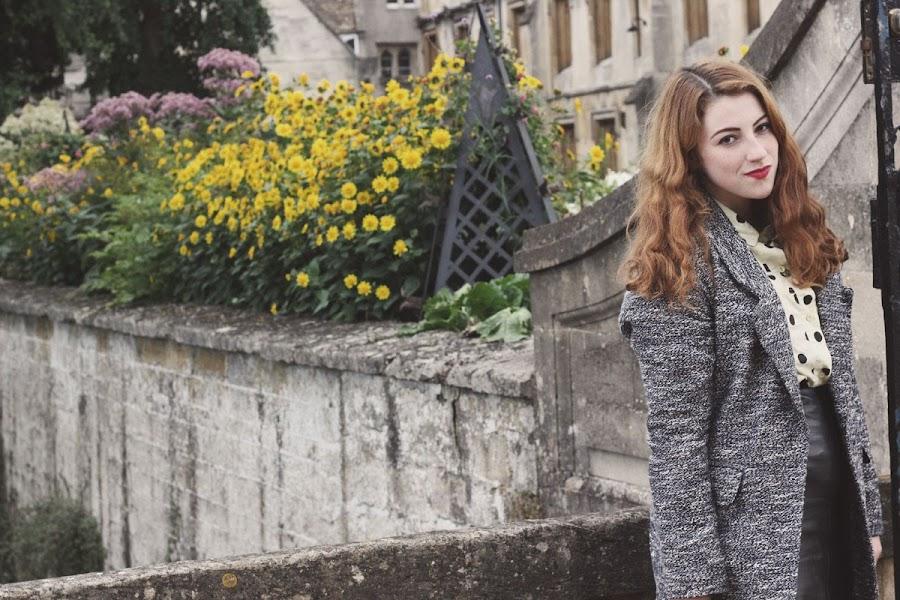 vintage sarsaparilla blouse