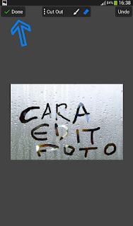 Cara edit foto menulis dikaca berembun