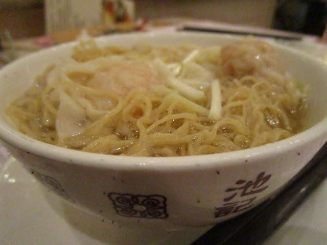 池記 雲吞麺