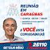 Getúlio Rego participa de Reunião em Caraúbas nesta quinta (06)