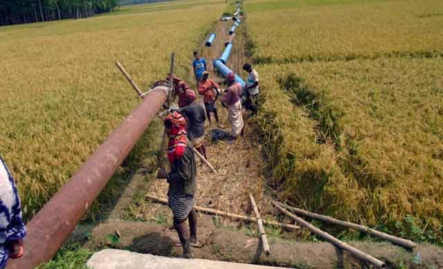 Five villages will be in danger. Locals' memorandum