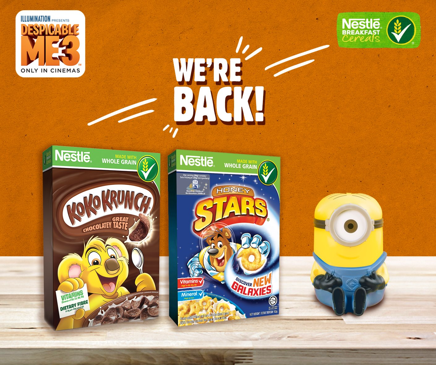 Nestle breakfast cereals promotion pack rm2799 free minion nestle breakfast cereals promotion pack rm2799 free minion selected giant cold storage ccuart Choice Image