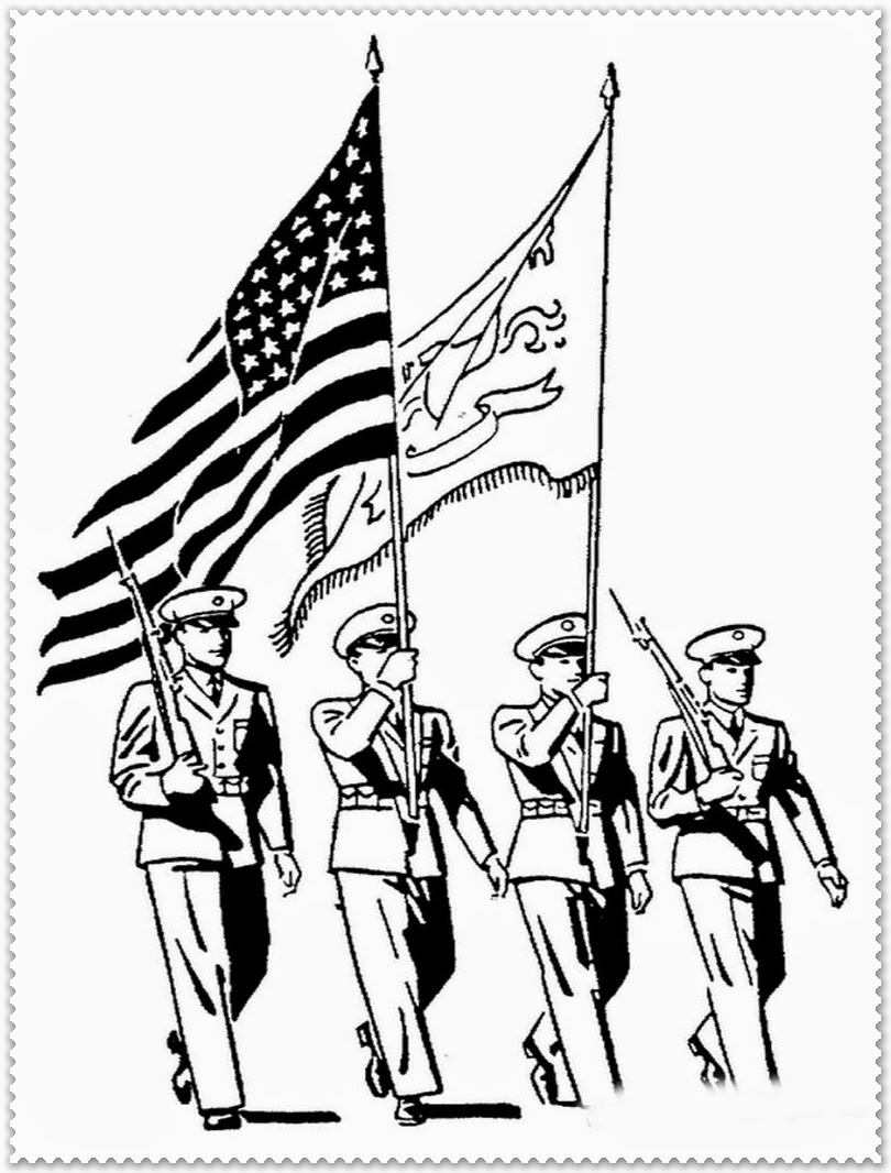 Veteran's Day Coloring Pages