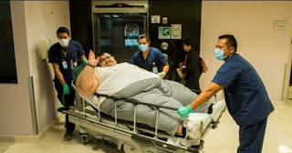 Heaviest man,fattest man,obesity, juan pedro franco,fat,Manuel uribe,Jon Brower, Khalid
