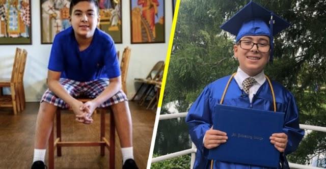 Un niño de 11 años obtiene título universitario, dice demostrará al mundo que Dios existe