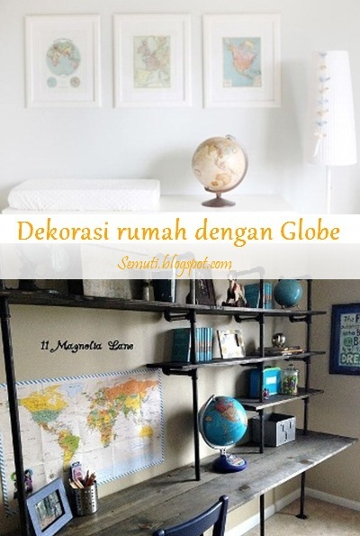 15 Ide Dekorasi Rumah dengan Globe