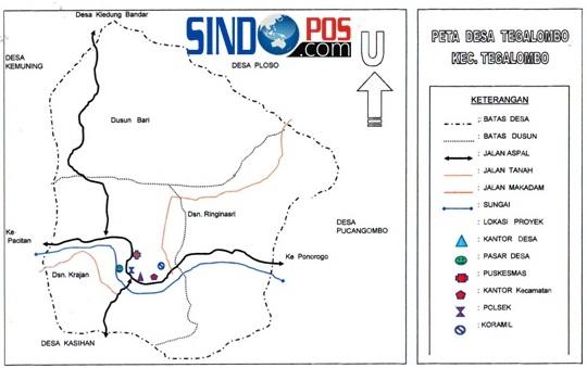 Profil Desa & Kelurahan, Desa Tegalombo Kecamatan Tegalombo Kabupaten Pacitan
