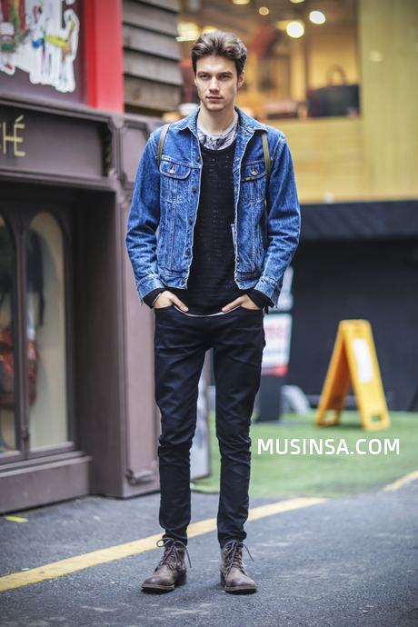 Korean Men Street Fashion
