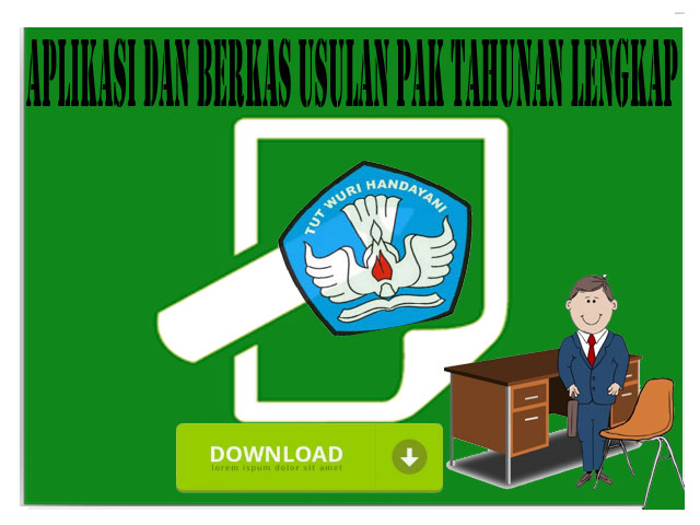 Aplikasi dan Berkas Usulan PAK Tahunan Versi Terbaru 2017