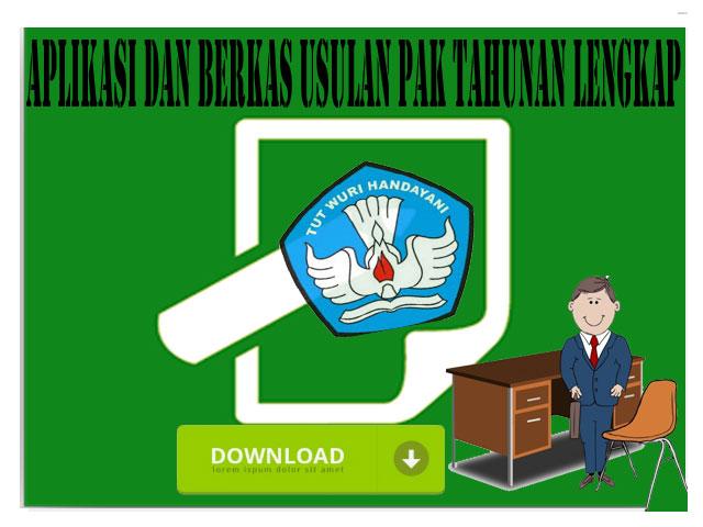 Aplikasi dan Berkas Usulan PAK Tahunan lengkap