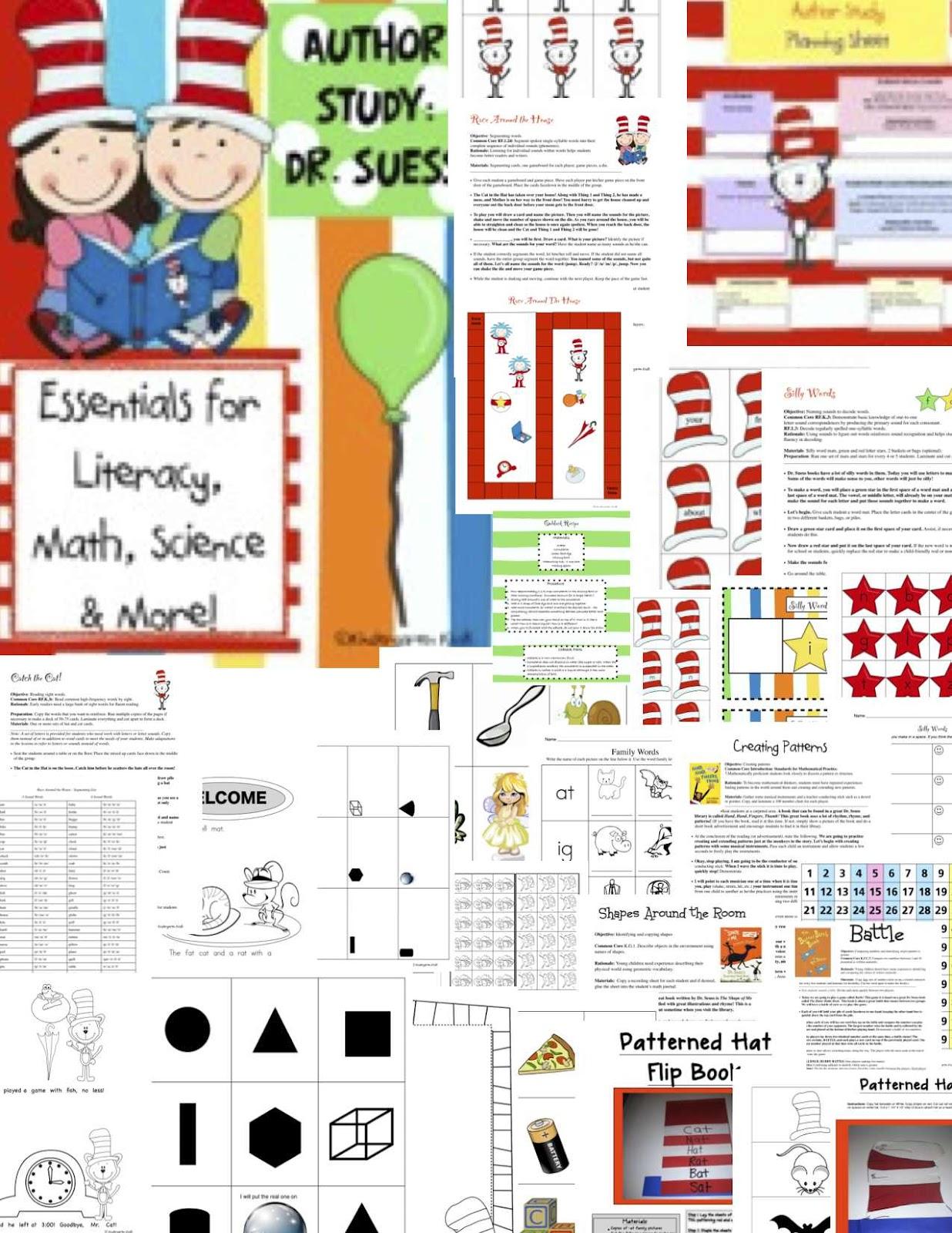 Kindergarten Kiosk Read Across America Celebrates Dr Seuss