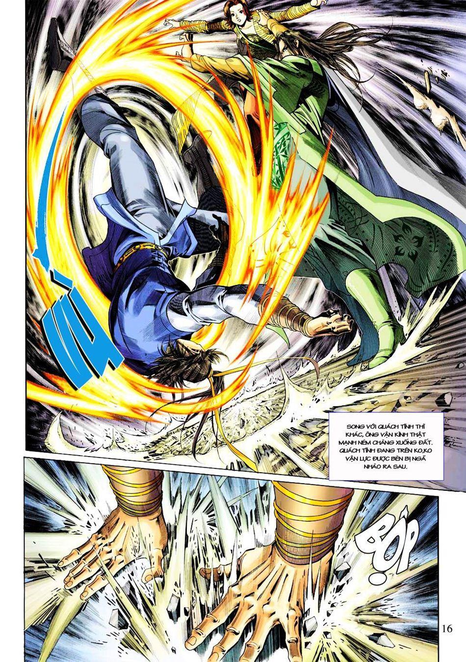 Anh Hùng Xạ Điêu anh hùng xạ đêu chap 33 trang 16