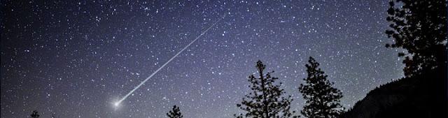 Chuva de meteoros Líridas - 21 e 22 de abril
