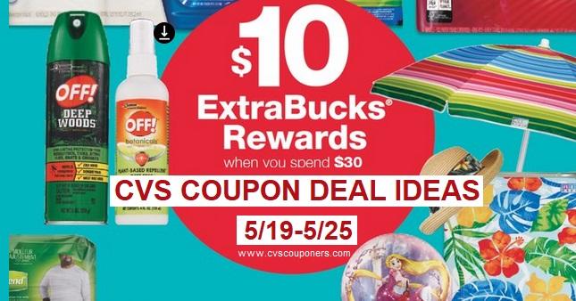 Get $10 Extrabucks Off $30 CVS Deal Ideas - 519-525