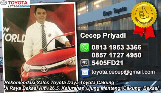 Rekomendasi Sales Data Toyota 2016 Cakung, Bekasi