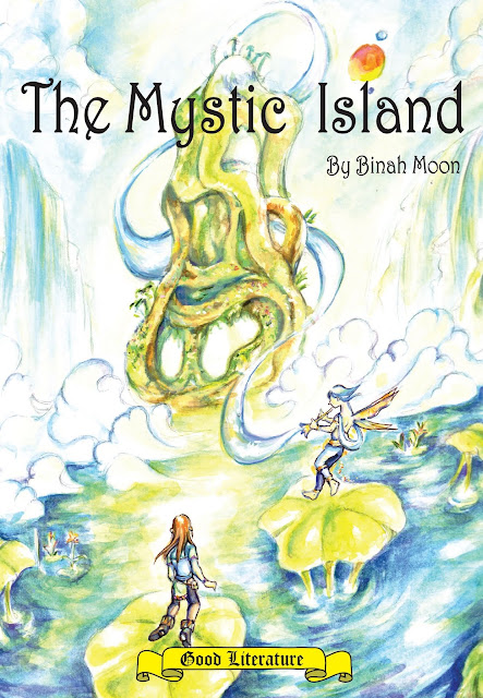 "'The Mystic Island"" by artist Binah Moon"