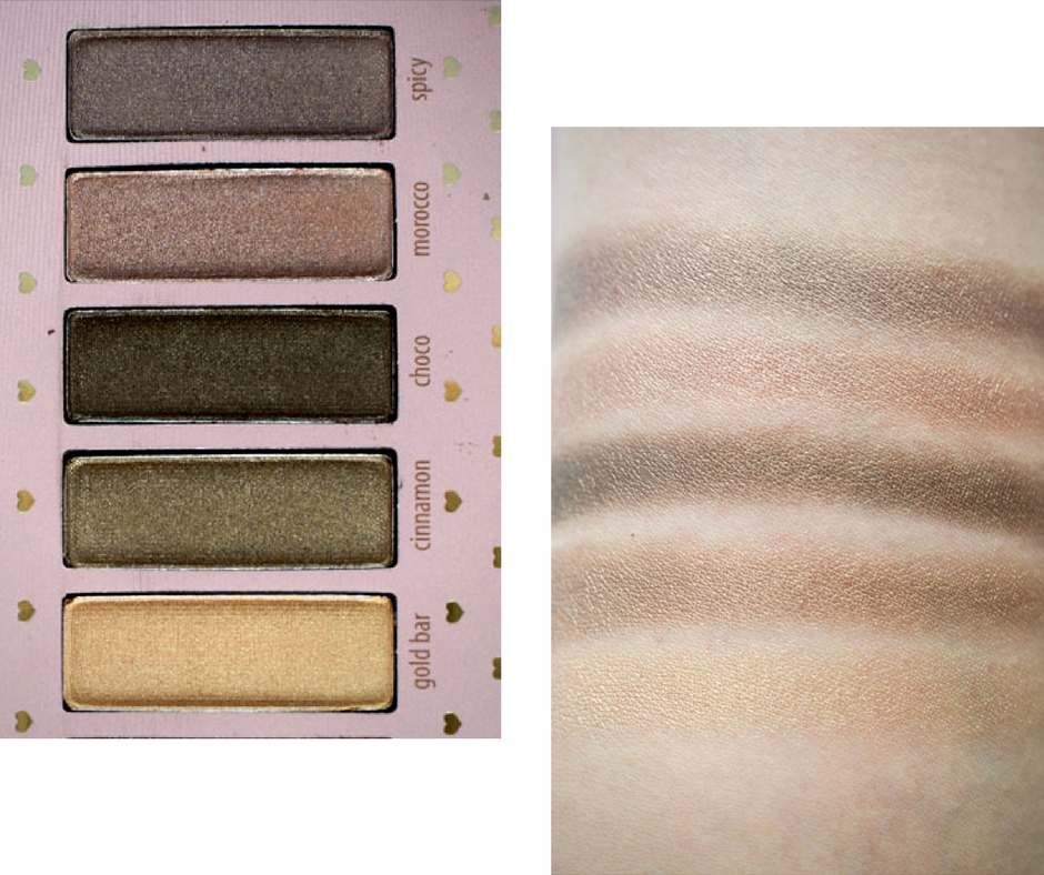 Chocolate Lovers LE, RdeL Young, Swatch