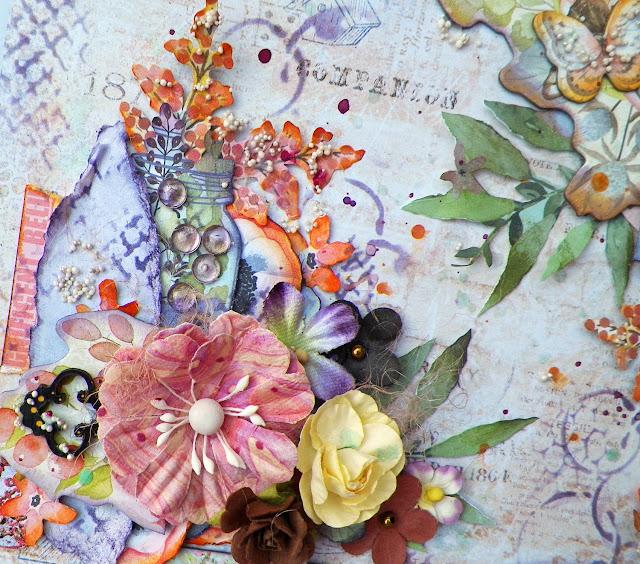 Layout created by Lisa Novogrodski for Scraps of Elegance using the July Kit Sunshine and Sweet Tea