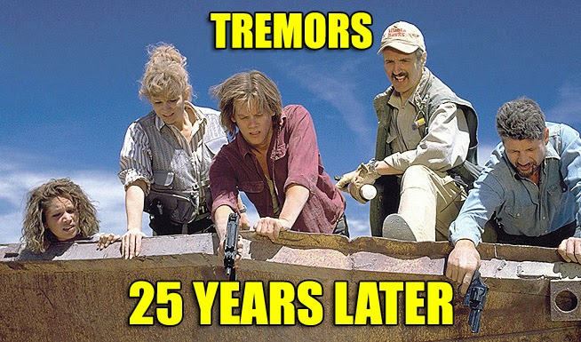 Tremors 1990 monster movie 25th anniversary