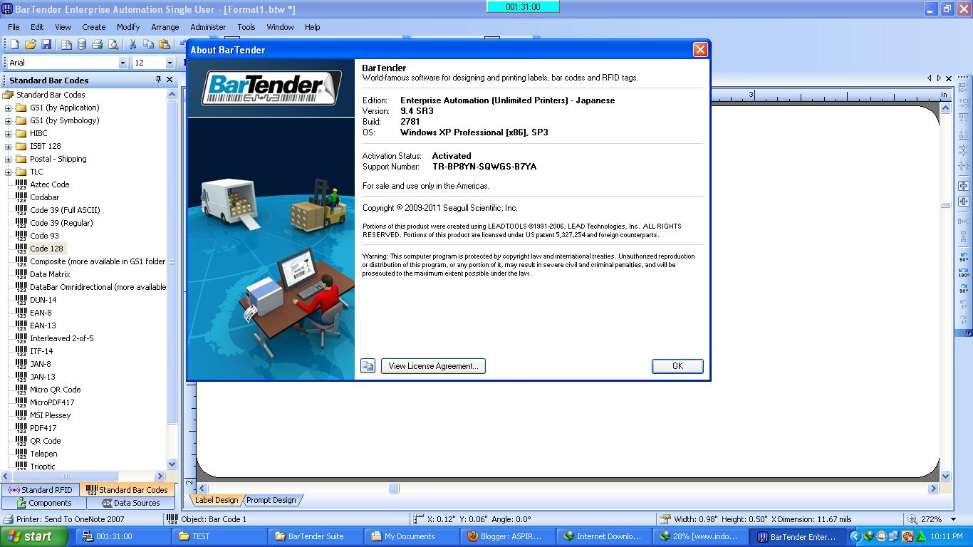 Download Software Bartender 7.75 - filetaiwan