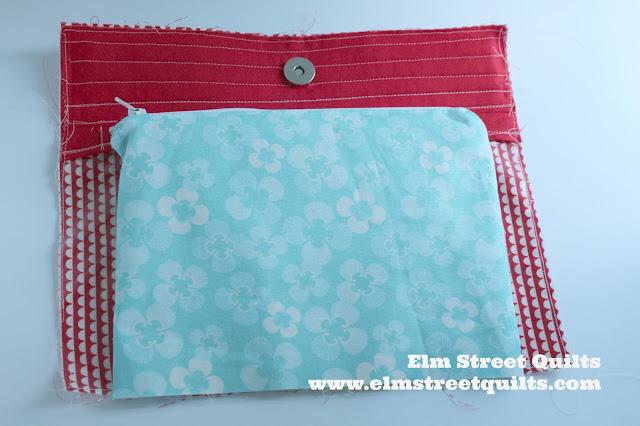 Elm Street Quilts Sew Travel Bag tutorial