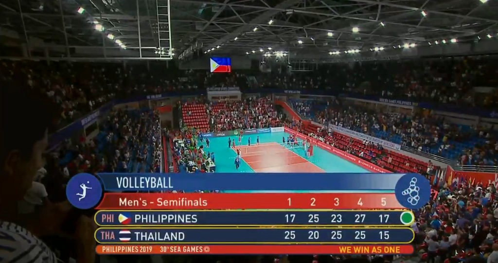 Philippines def. Thailand, 3-2 (VIDEO) Men's Volleyball Semis | SEA Games 2019 | December 8
