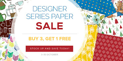 Designer Series Paper Sale - get your bargain here