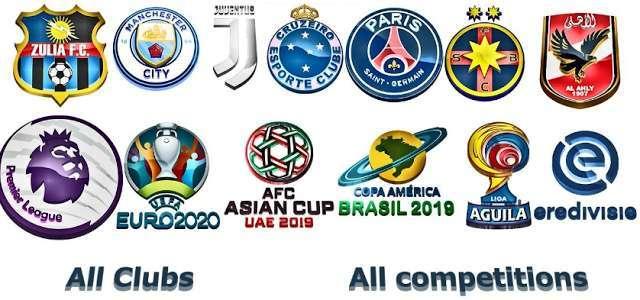 3D Logos PES 2018