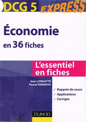 Télécharger Livre Gratuit Economie en 36 fiche DCG 5 pdf