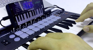 OTG Music keyboard