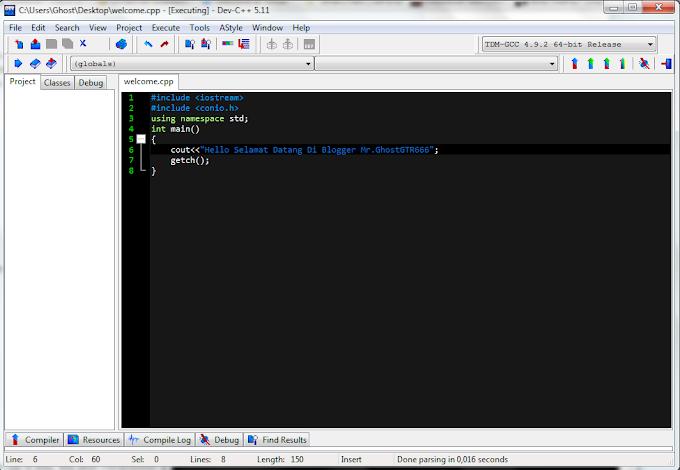 Belajar Membuat Hello World di Bahasa Pemrograman C++