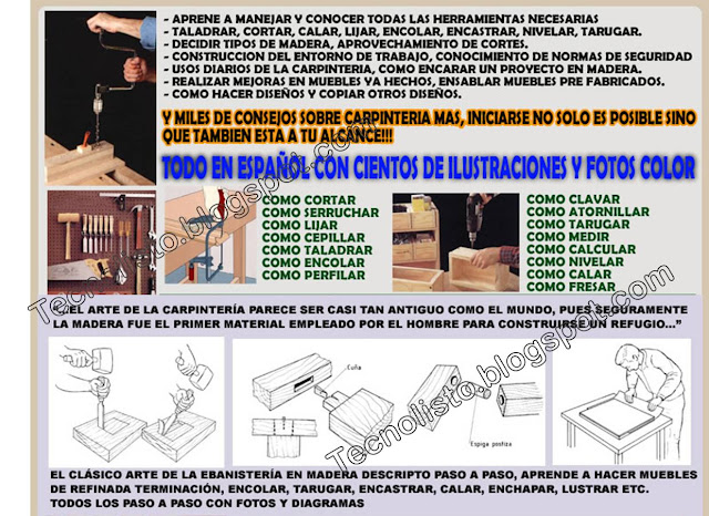 """Manual de carpinteria general"""