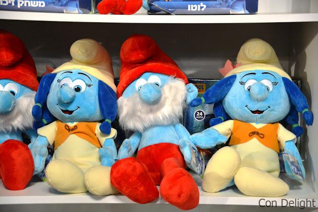 דרדסים חנות מזכרות Souvenir shop smurfs
