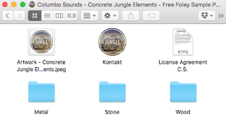 Full Concrete Jungle Elements (WAV & Kontakt Format)