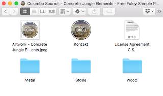 Full Concrete Jungle Elements (WAV & Kontakt Format)