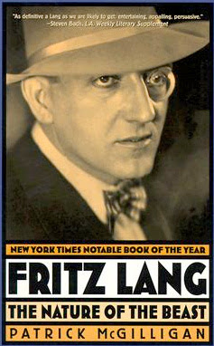 Paperback cover: Fritz Lang: The Nature of the Beast by Patrick McGilligan