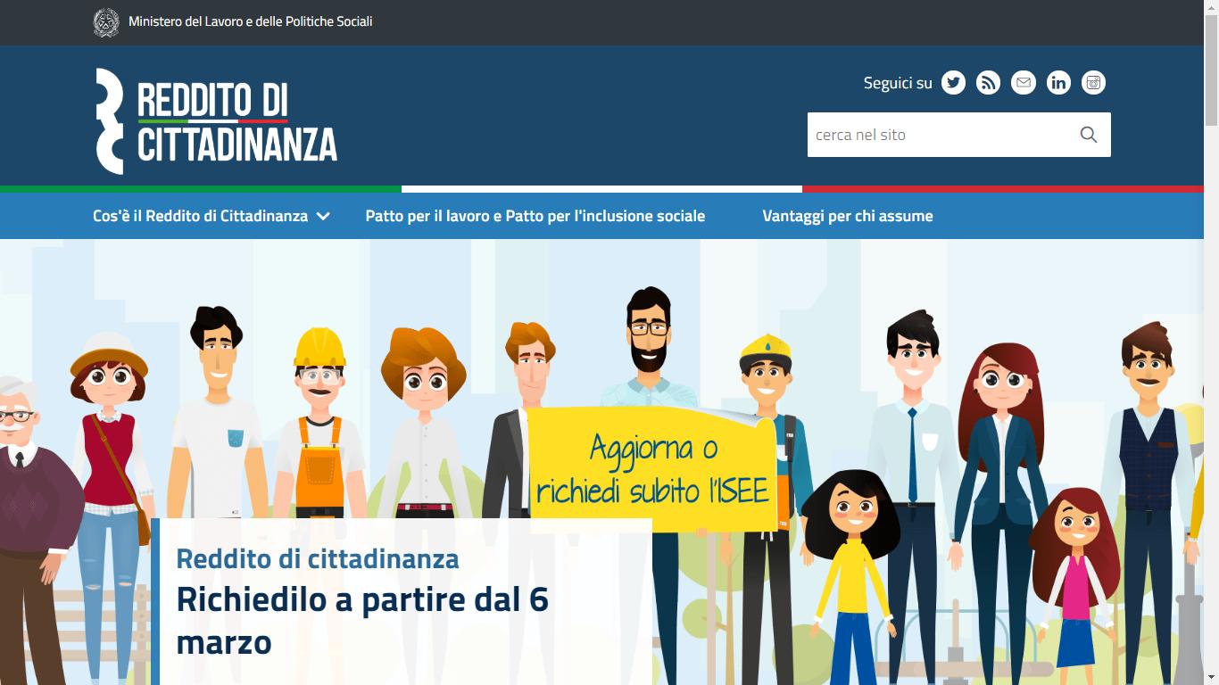 Online-sito-Reddito-Cittadinanza