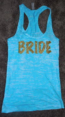 Bride Workout Tank