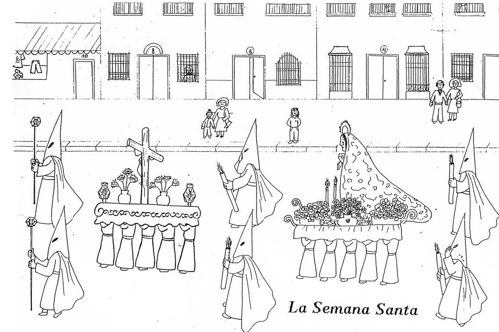 Dibujos Para Colorear Para Ninos De Semana Santa: *MIS COSAS DE MAESTRA*: Manualidades Y Dibujos De Semana Santa