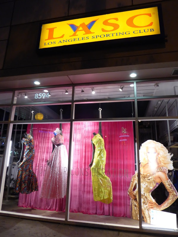 RuPauls Drag Race gowns LASC West Hollywood