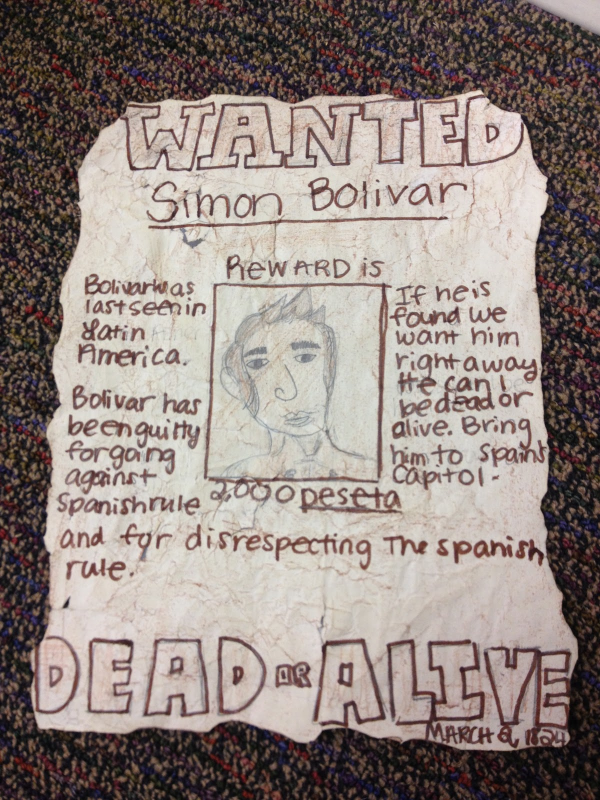As A Fun Twist Ive Hung Bunch Up All Over The School So Theyre Like Real Wanted Posters Be On Lookout