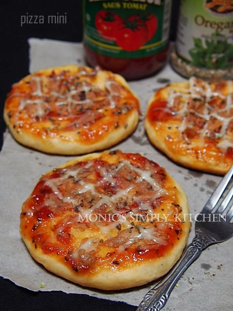 pizza mini tuna mayo