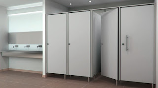 phenolic cubicle toilet